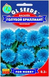 Василек Голубой бриллиант