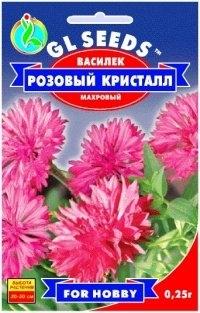Василек Розовый кристалл