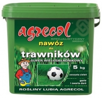 Удобрение Agrecol для Газонов Super многокомпонентное 5 кг