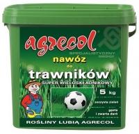 Удобрение Agrecol для Газонов Super многокомпонентное 10 кг