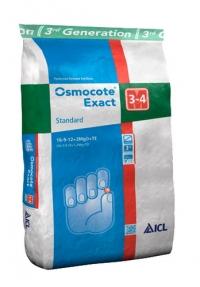 Удобрение Osmocote Exact Standard 3-4 мес для хвойных культур 25 кг