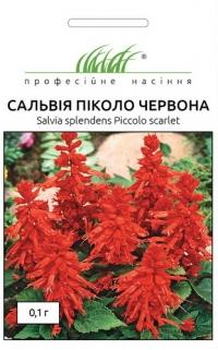 Сальвия Пикколо красная