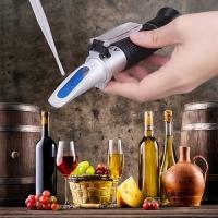 Рефрактометр для вина и пива RSG-32ATC (0-32 % Brix, 1.000-1.200 SG wort) в футляре