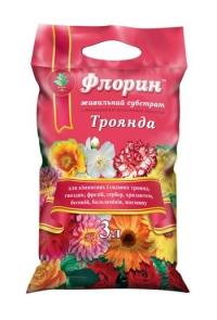 Субстрат Флорин роза 3 л