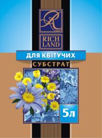 Субстрат Rich Land для цветущих 5 л