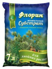 Субстрат Флорин для хвойных растений 7 л