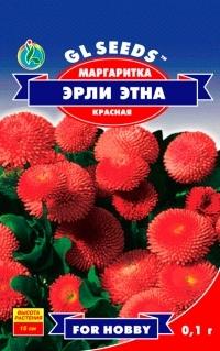 Маргаритка Эрли Этна красная