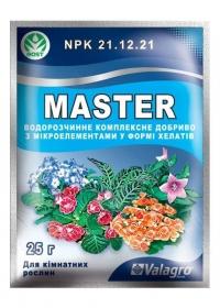 Удобрение Master для комнатных растений 25 г