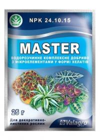 Удобрение Master для декоративно-лиственных растений 25 г