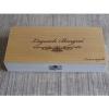 Деревянная подарочная коробка для ножа с мусатом и смазкой Laguiole Bougna 1900