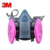 Респиратор полумаска 3M 7502 с фильтрами 6001CN, 2091 P100, 5N11CN N95