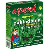 Удобрение Agrecol для Газонов укладка и восстановление 1,2 кг