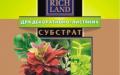 Субстрат Rich Land для декоративно-лиственных 5 л